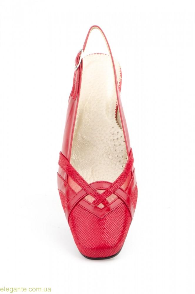 Женские туфли JAM3 красные 0