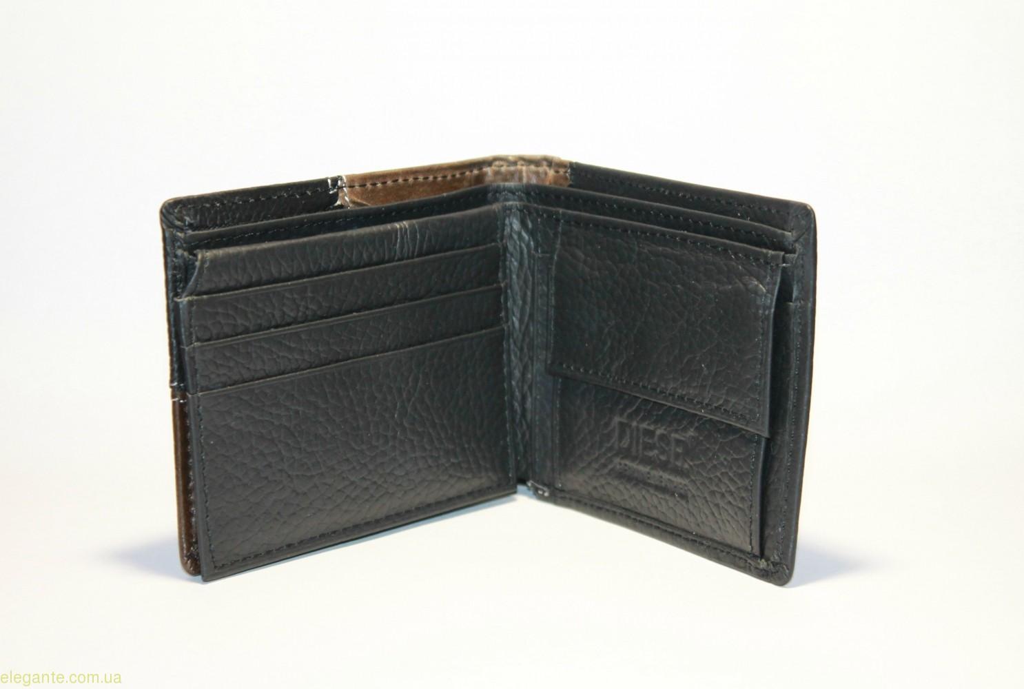 Бумажник мужской Dies8 3 чёрный 0