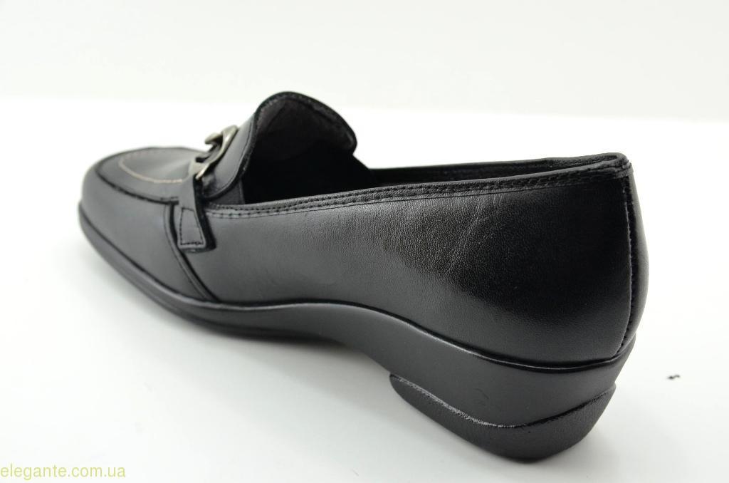 Жіночі туфлі на танкетці TORRES2 чорні 1