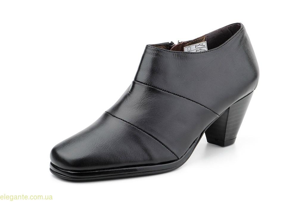 Женские туфли на молнии JAM чёрные 0