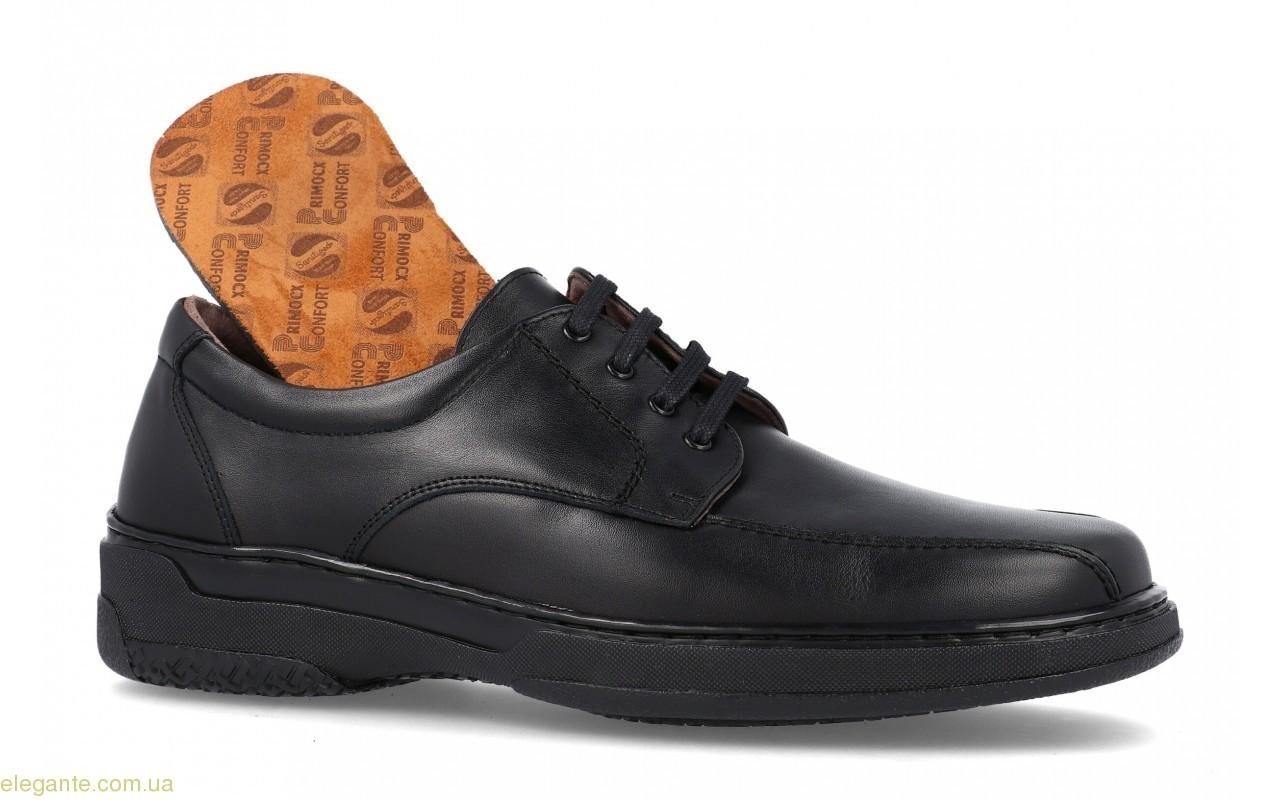 Мужские туфли  анатомические  PRIMOCX  черные 0