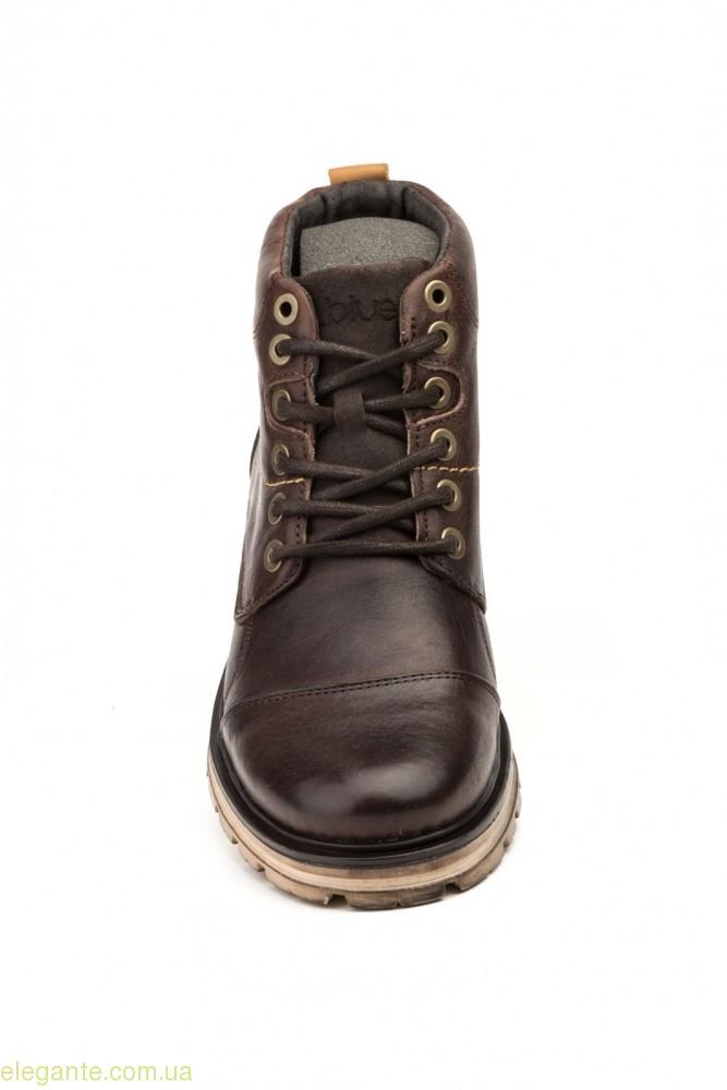 Мужские ботинки STYLE BLUE коричневые 0