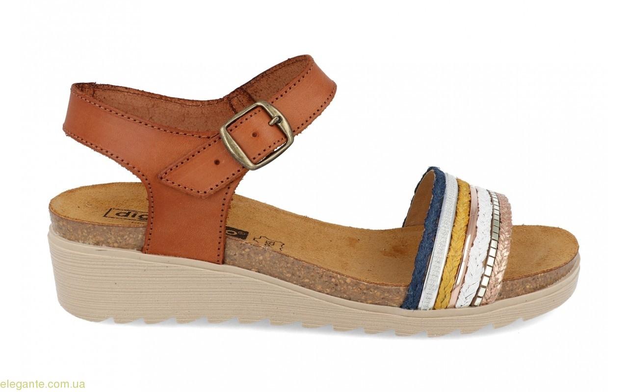 Женские сандалии DIGO DIGO светло-коричневые 0
