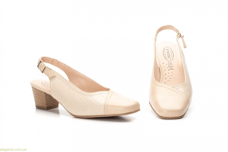 Женские туфли Matic бежевые 0