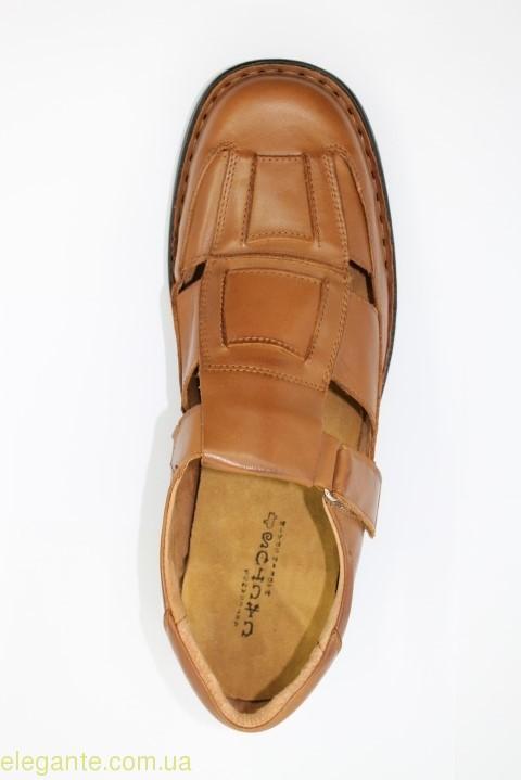 Чоловічі сандалі CACTUS1 коричневі 0