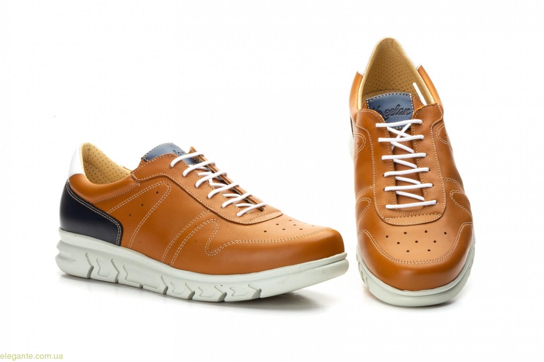 Мужские туфли ежедневные Keelan цвет нат. кожи 0