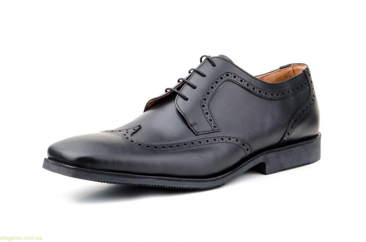 Чоловічі туфлі дербі CARLO GARELLI xxl чорні 0