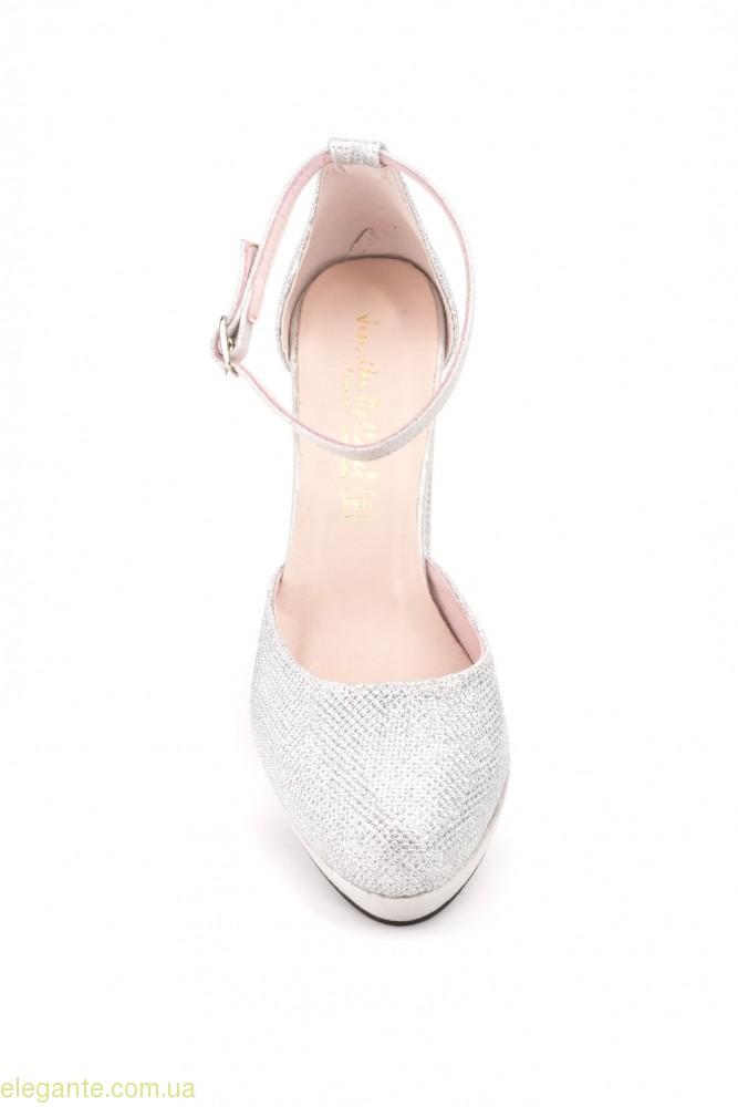 Жіночі туфлі святкові LUMINOR срібні від Jennifer Pallares 0