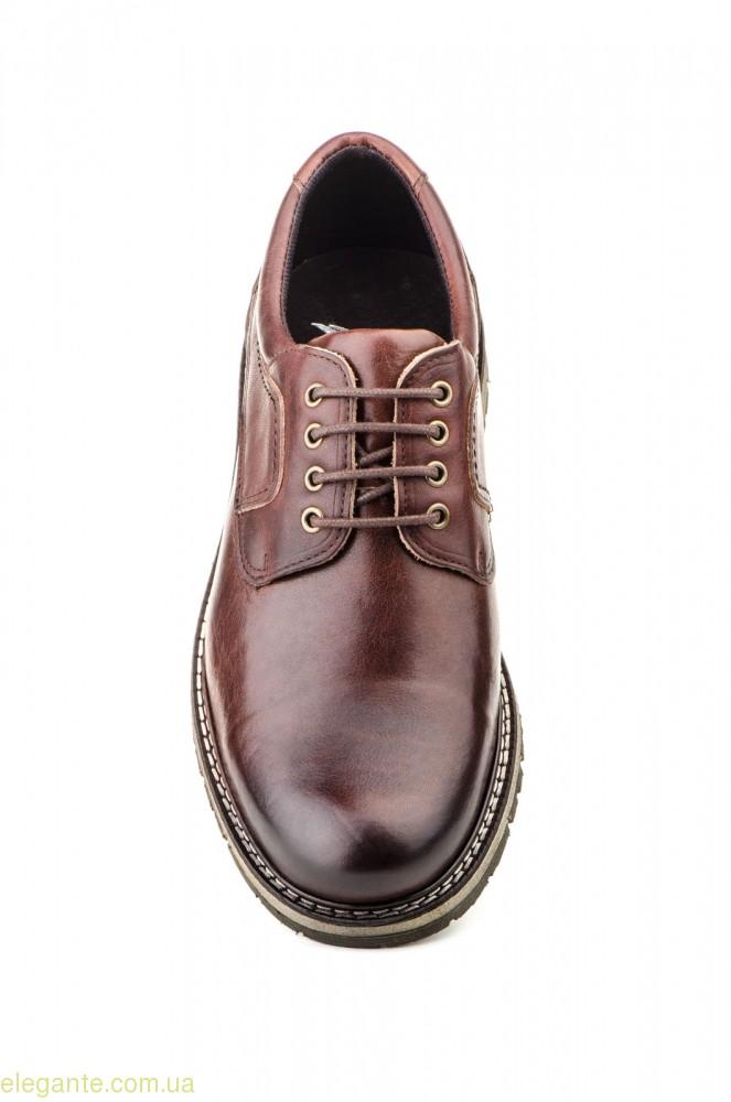 Чоловічі туфлі NAUTIC BLUE коричневі 0