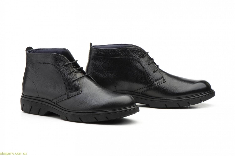 Мужские ботинки Keelan чёрные 0