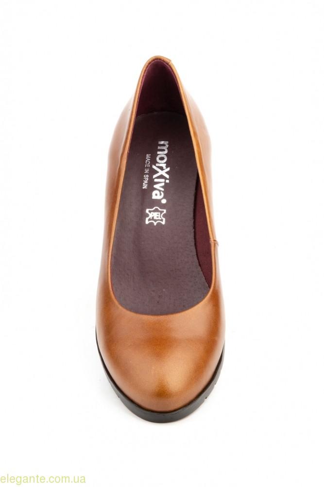 Жіночі туфлі MORXIVA коричневі 0