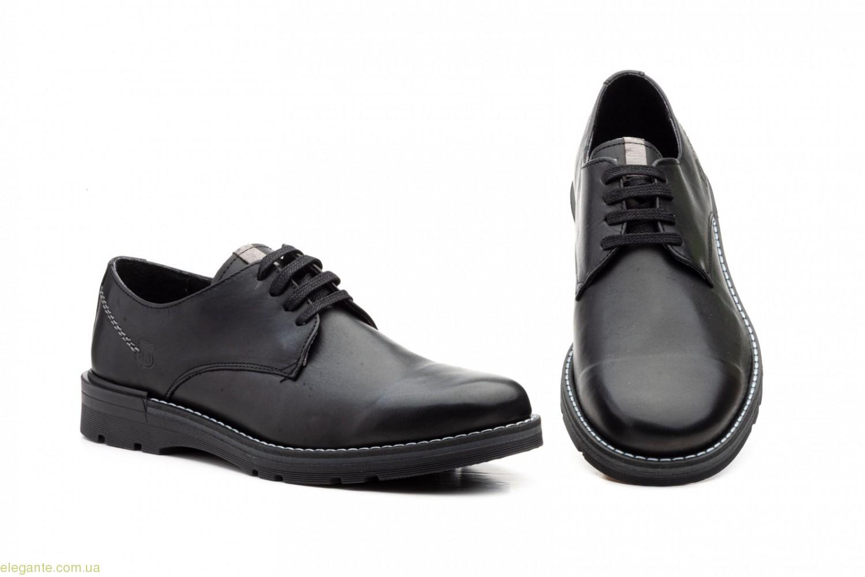 Мужские туфли Nautic Bllue1 чёрные 0