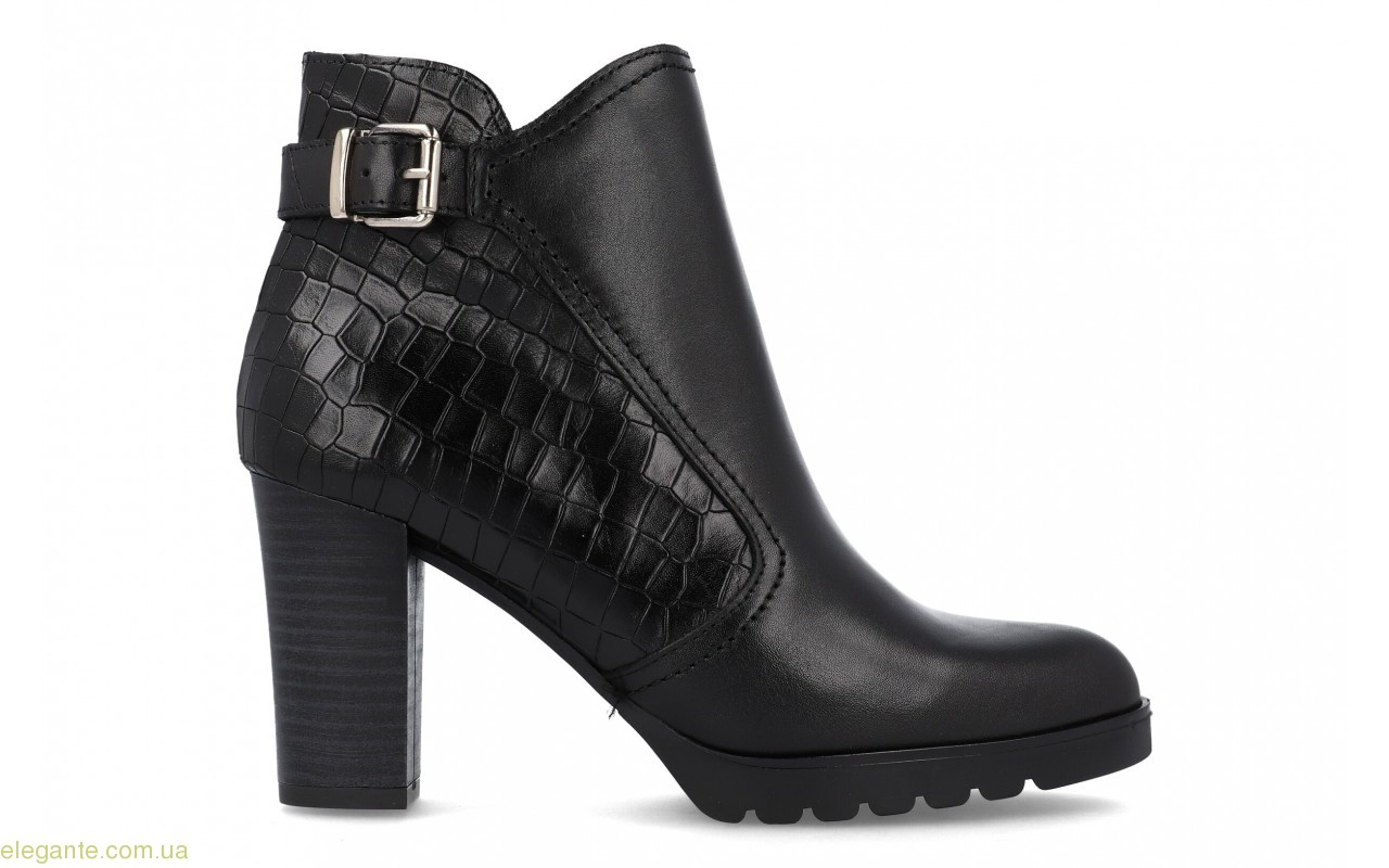 Женские ботинки с пряжкой BDA 0