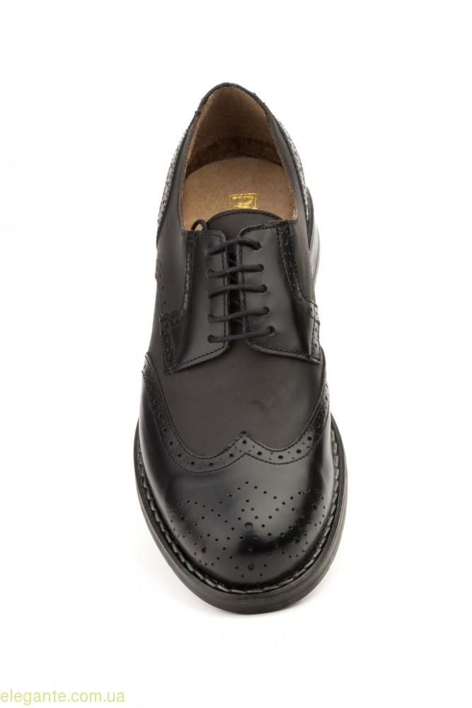 Мужские туфли перешитые SCN чёрные 0