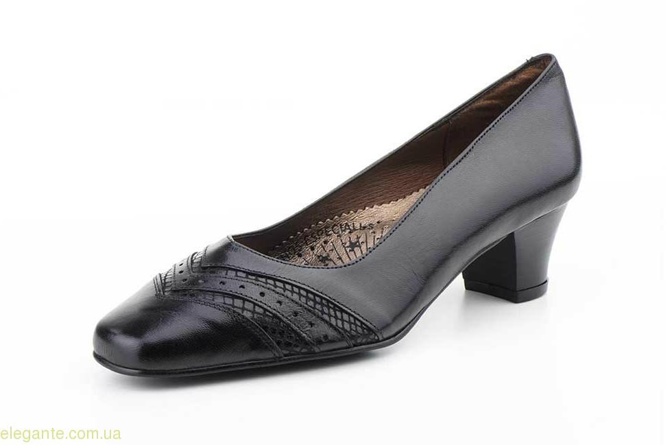 Женские туфли на каблуке JAM5 чёрные 0