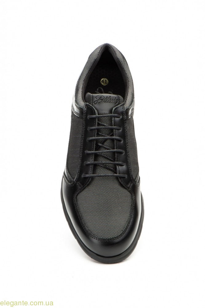 Мужские кросовки Diluis чёрные 0