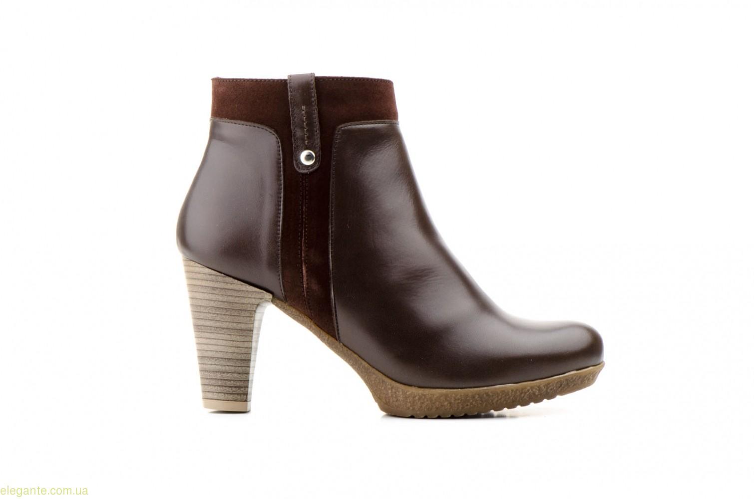 Женские ботинки AGATHA SHOES коричневые 0