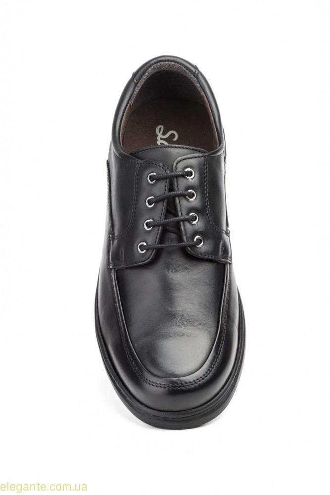 Чоловічі туфлі SCN2 чорні 0
