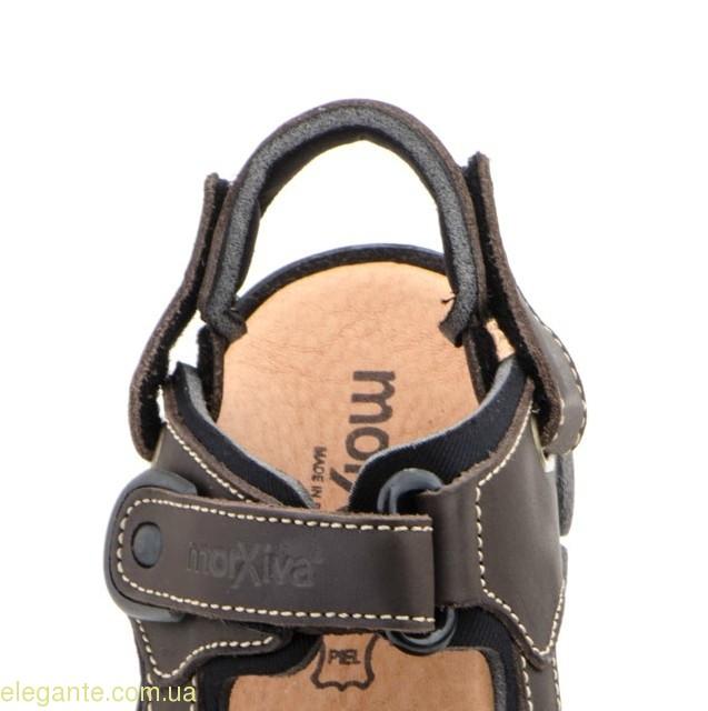 Чоловічі сандалі MORXIVA1  коричневі 0