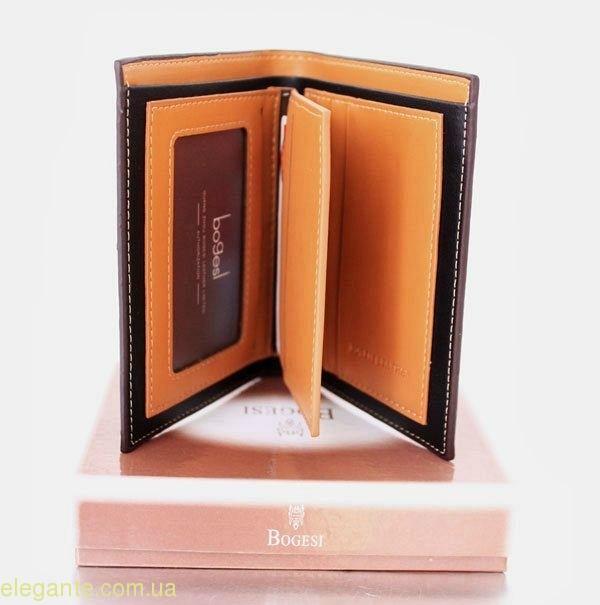 Чоловічий гаманець BODECI коричневий 0