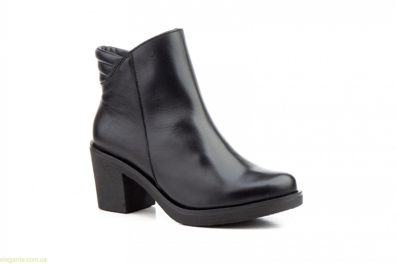 Жіночі черевики на каблуку JAM чорні 0