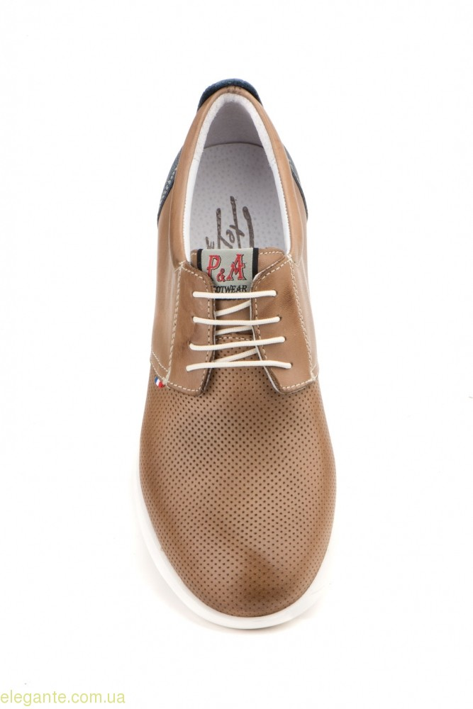 Мужские туфли PEPE AGULLO2 коричневые 0