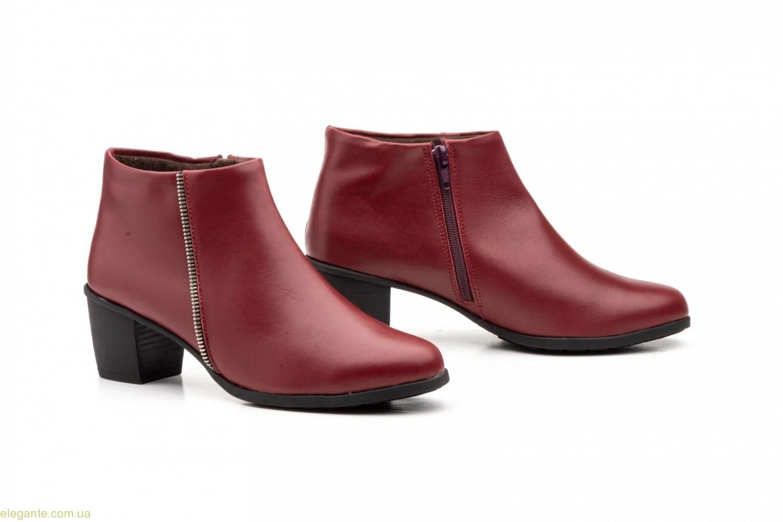 Жіночі черевики Cutillas1 бордові 0