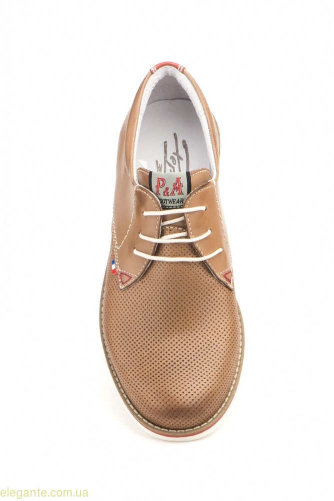 Мужские туфли PEPE AGULLO3 коричневые 0