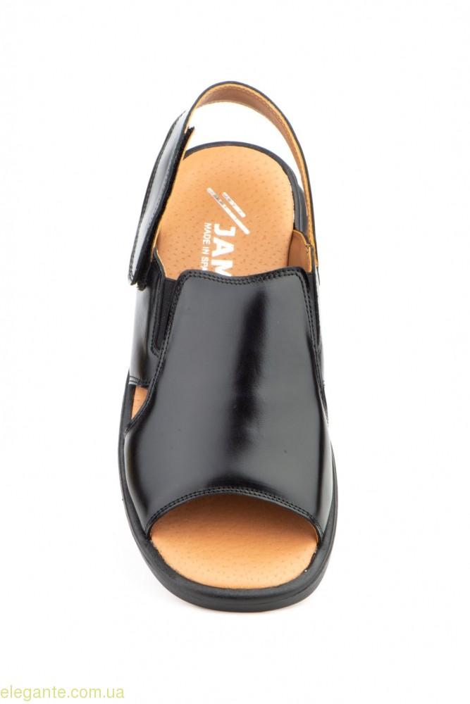Мужские сандали JAM Nautic чёрные 0