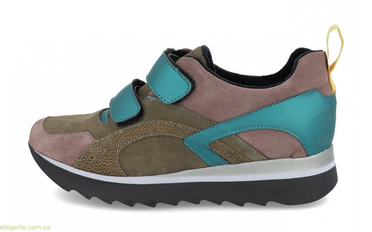 Жіночі кросівки VIDA колір хакі 0
