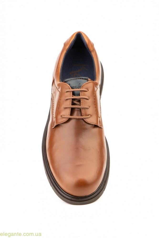 Мужские туфли дерби KEELAN коричневые 0