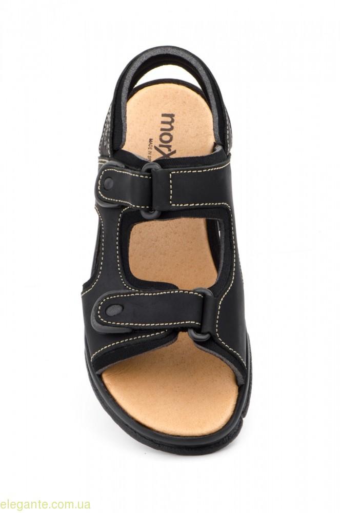 Чоловічі сандалі MORXIVA чорні 0