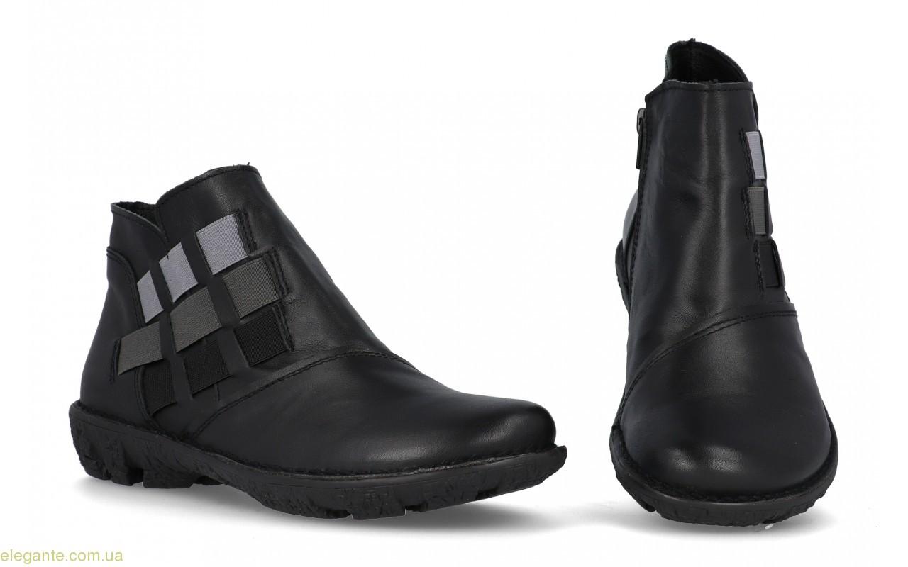 Женские ботинки еластические DIGO чёрные 0