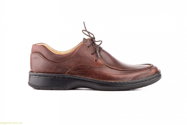 Чоловічі туфлі SCN1 коричневі 0