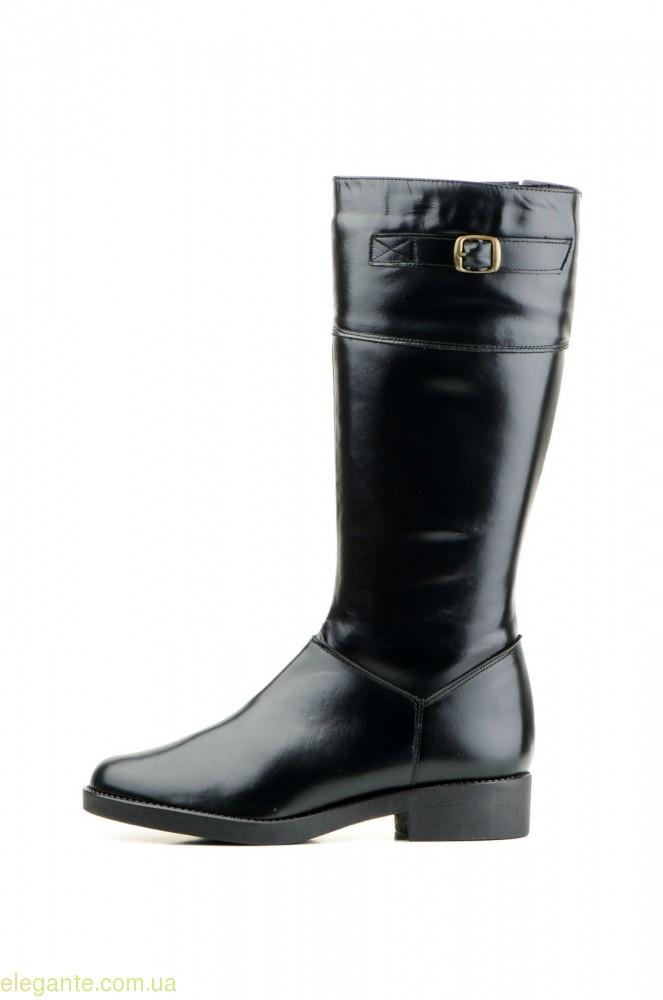 Жіночі чоботи JAM з пряжкою чорні 0