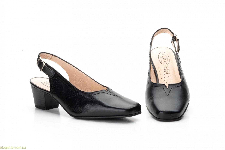 Женские туфли JAM с пряжкой чёрные 0
