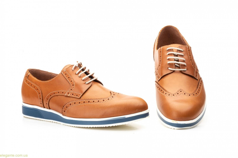 Мужские туфли Keelan Casual коричневые 0
