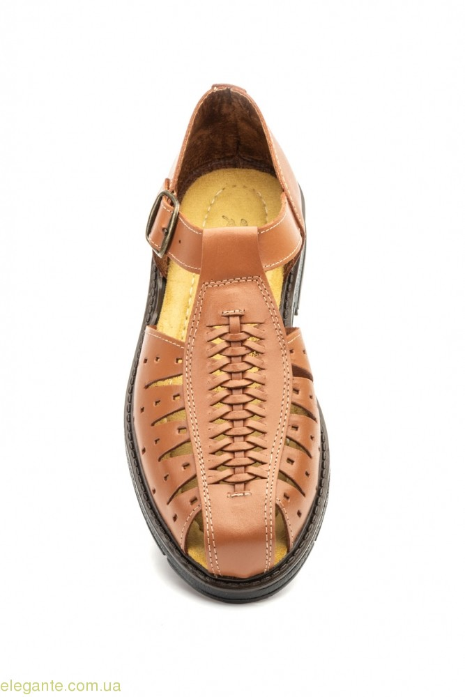 Чоловічі сандалі Raian коричневі 0