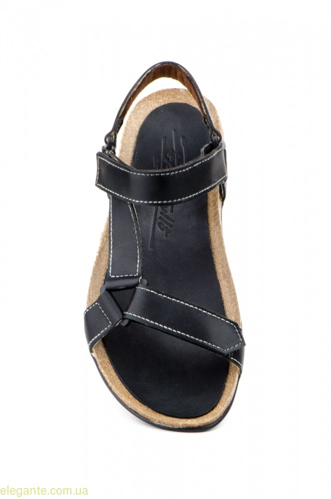 Мужские сандали открытие PEPE AGULLO чёрные 0