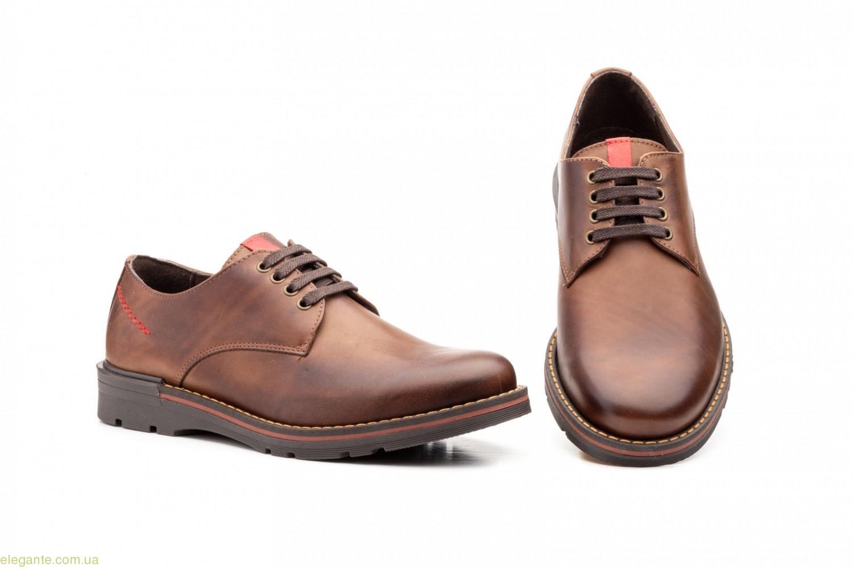 Мужские туфли Nautic Bllue1 коричневые 0