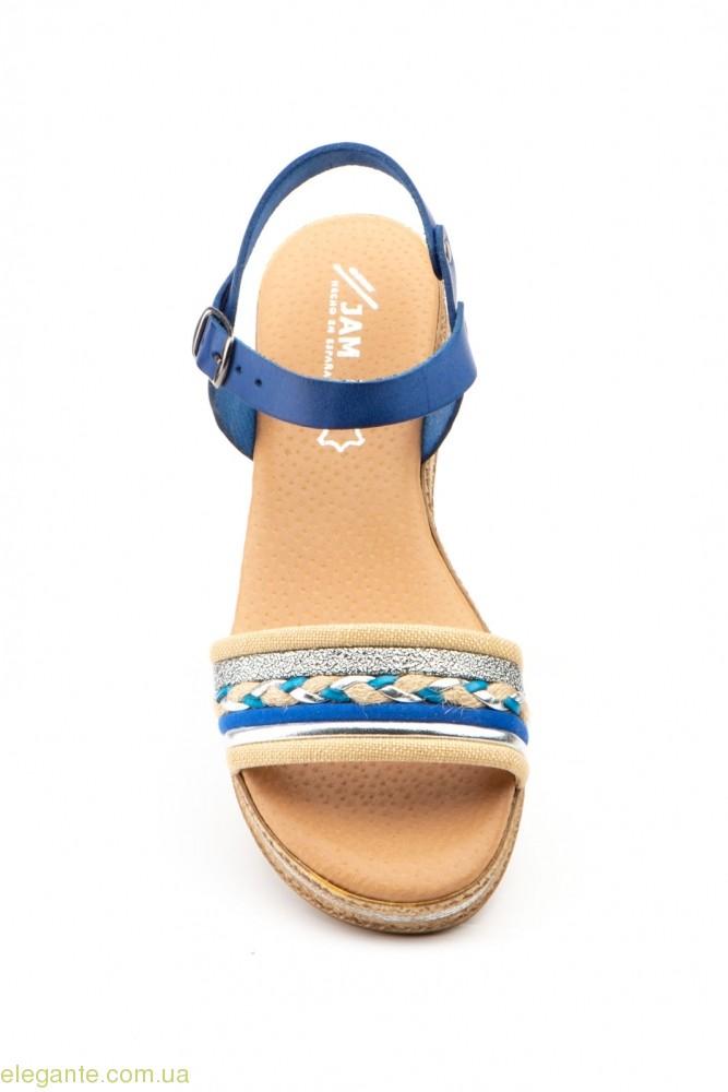 Жіночі сандалії JAM Mistral голубі 0