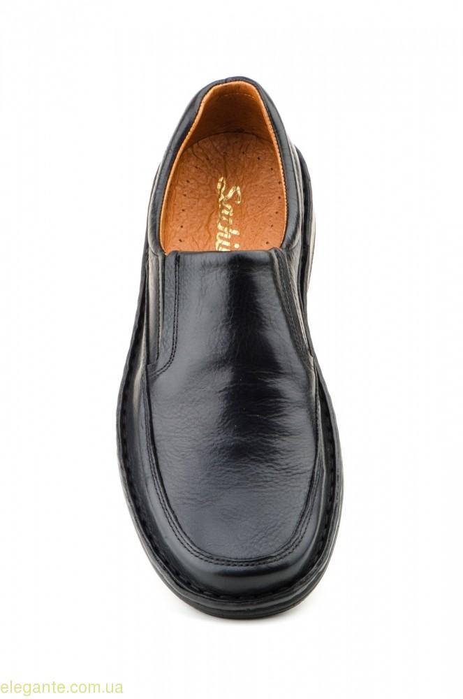 Чолоівчі туфлі SCN CRISPINOS еластичні чорні 0