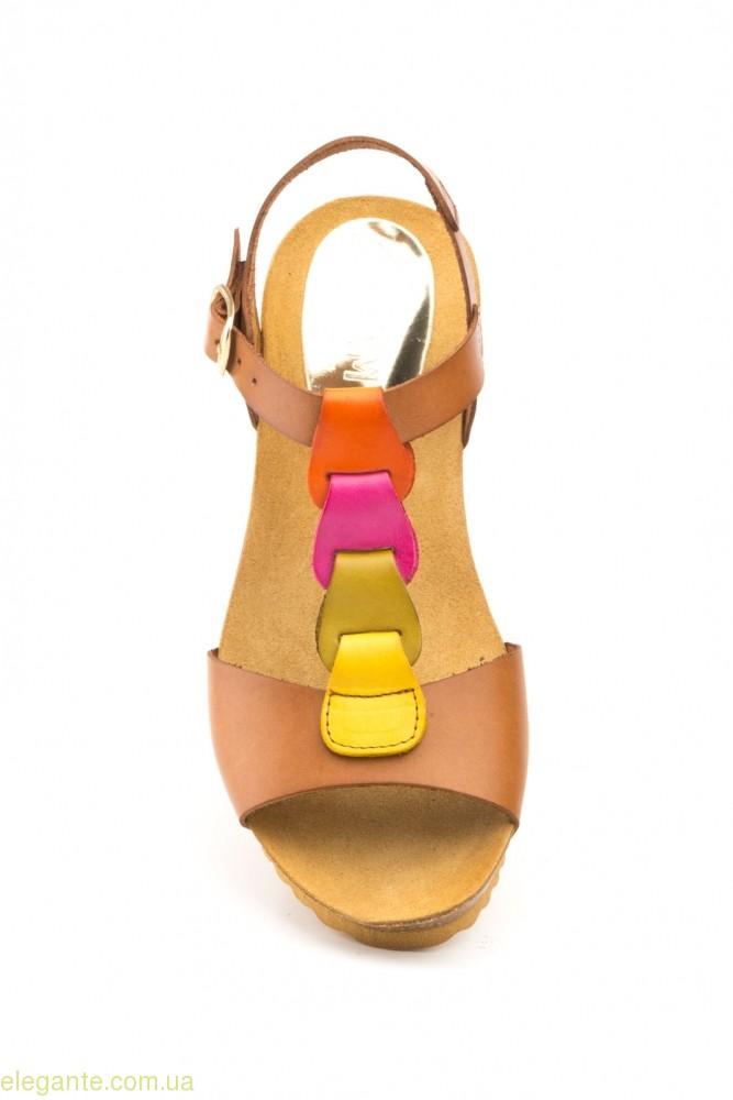 Женские босоножки LIMON цвет нат.кожи 0