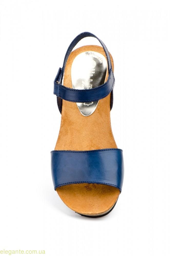 Женские сандалии MULLER синие 0