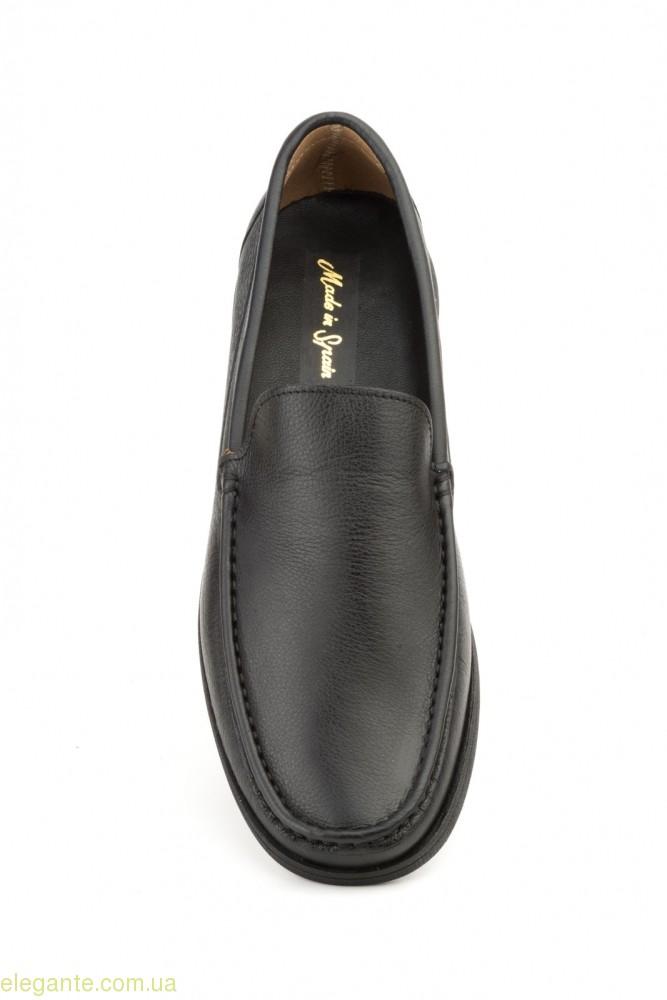 Чоловічі туфлі мокасини NAUTIC JAM чорні 0