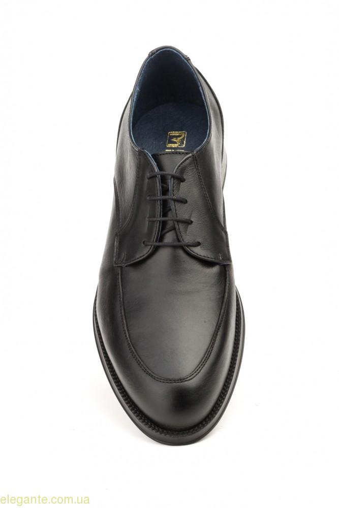 Мужские туфли дерби SCN чёрные 0