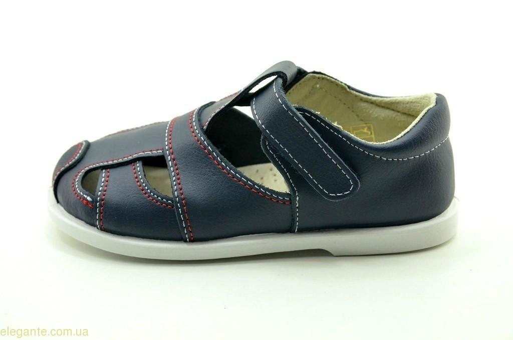 Детские сандали на липучке XIQUETS  синие 0