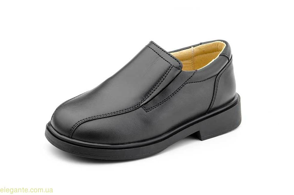 Дитячі шкільні туфлі SERNA чорні 0
