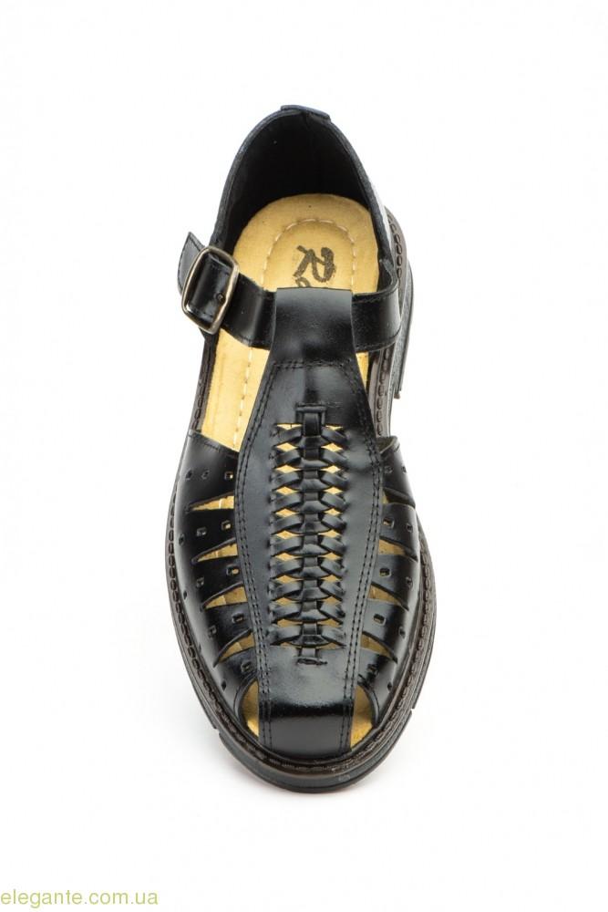 Мужские сандалии Raian чёрные 0