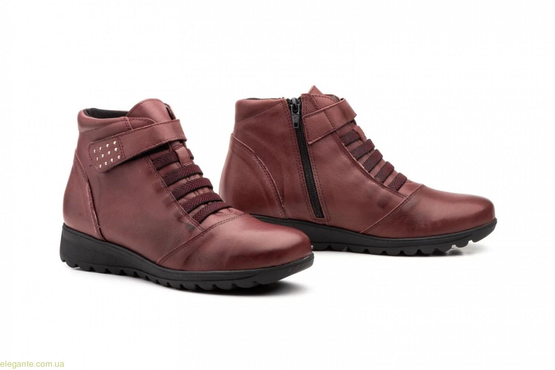 Женские ботинки Manoci Ceralin бордовые 0